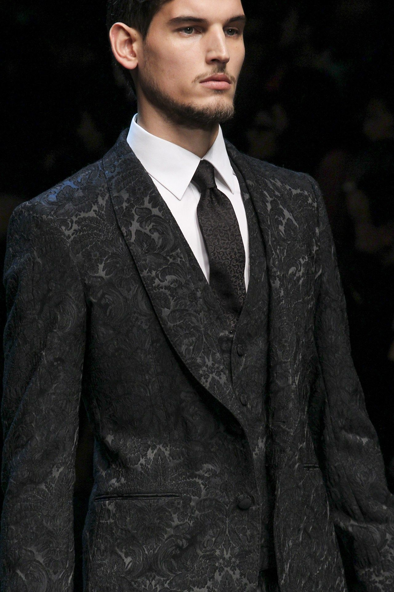 Sumptuous Dolce Gabbana A W 15 Dolce Gabbana Broccato Menssuit Luxury Menswear Mensfashion Dolce And Gabbana Man Blazers For Men Mens Designer Fashion