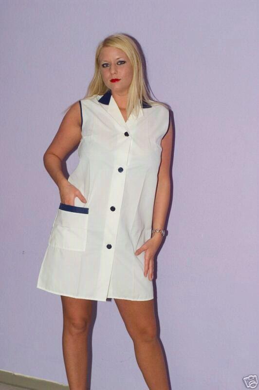 Fartuchy BlouseShirt Et NylonkittelKitle I Overalls Dress cTlFK13J