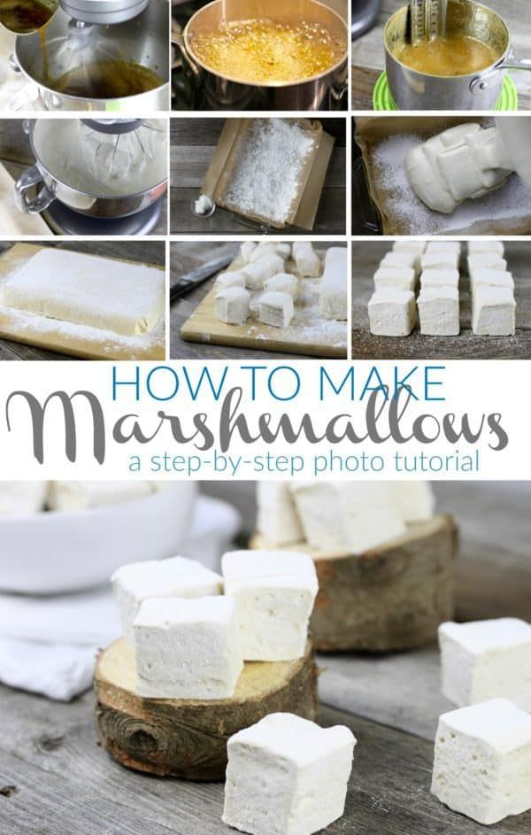 Homemade Marshmallows #healthymarshmallows