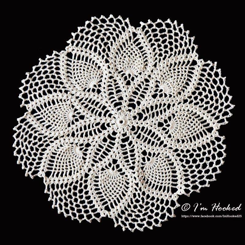 Clematis Doily   Knit/Crochet - Granny Squares Crochet   Pinterest