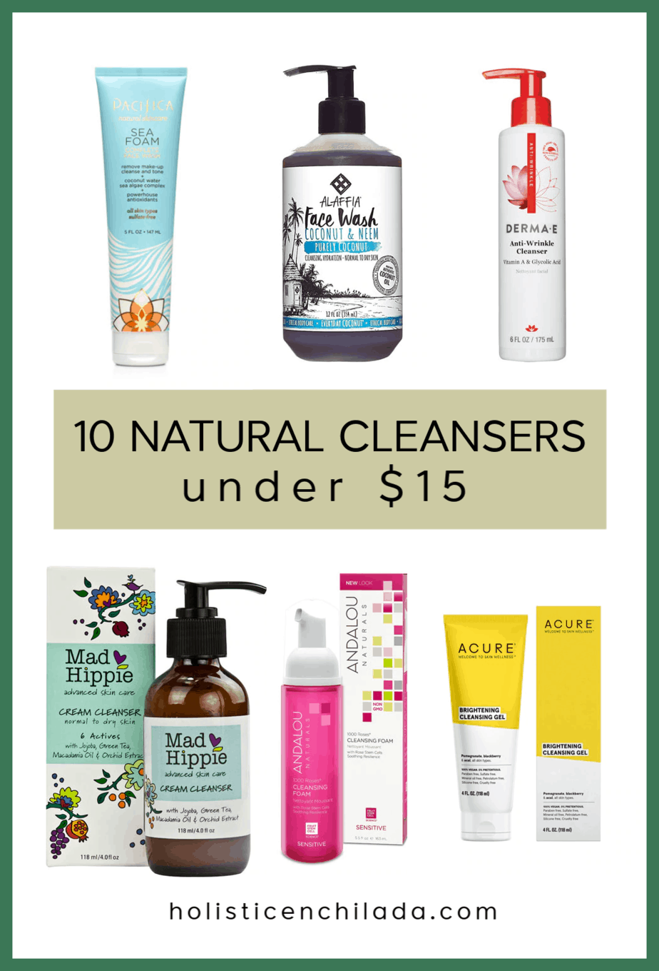 affordable natural face cleansers Natural face cleanser