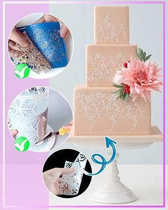 👏😍Create beautiful decorations for your next cake