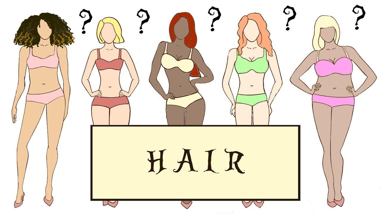 Hair For The Bodytypes Apple Body Shapes Body Types Pear Body Shape
