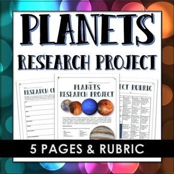 planets project rubric - photo #31