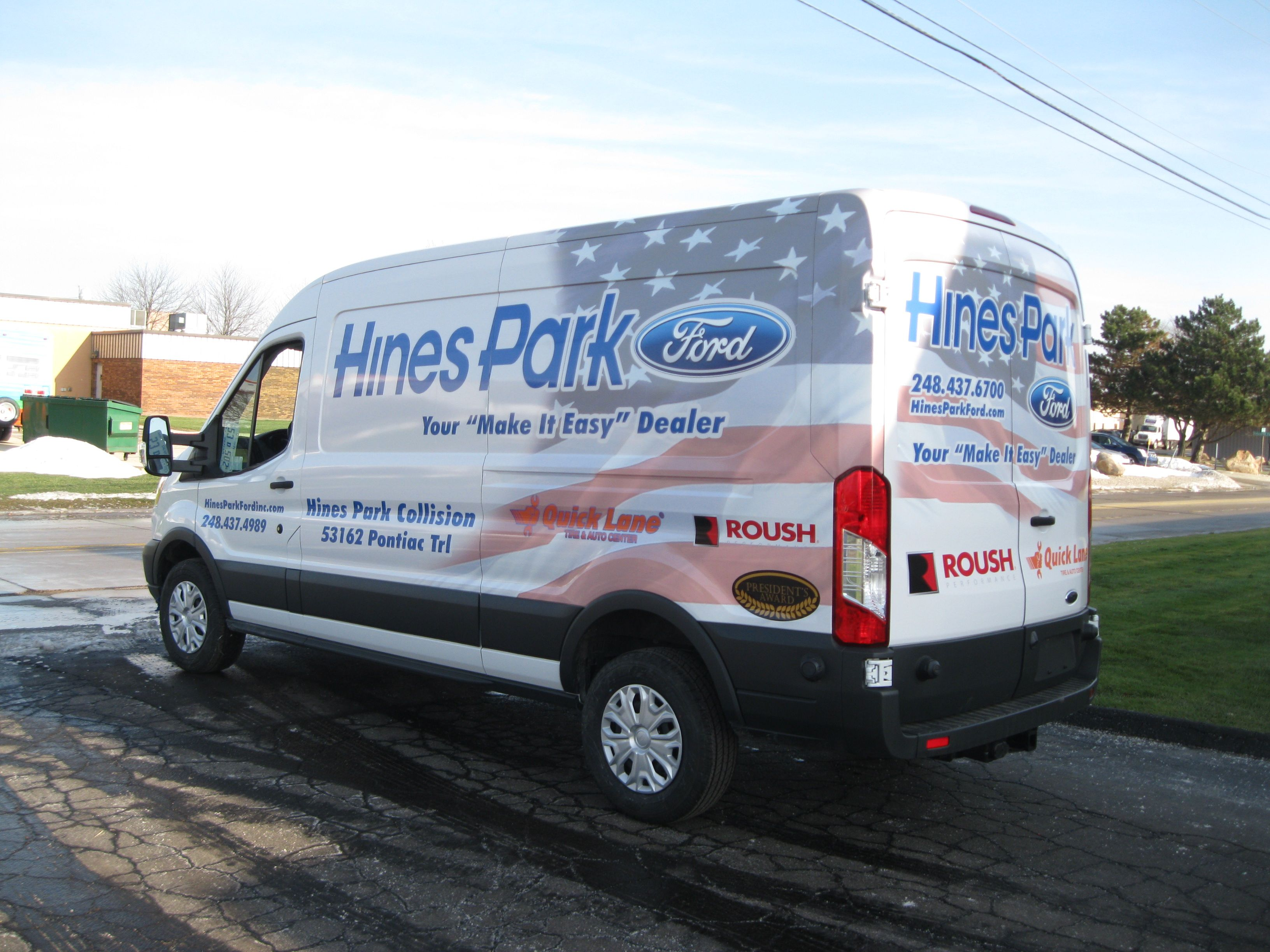 Check Out This Patriotic Themed Wrap We Did For A Local Ford - Nearest ford dealership