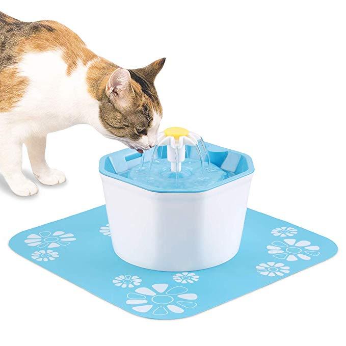 Pet Supplies Shinea Cat Water Fountain, 1.6L Automatic