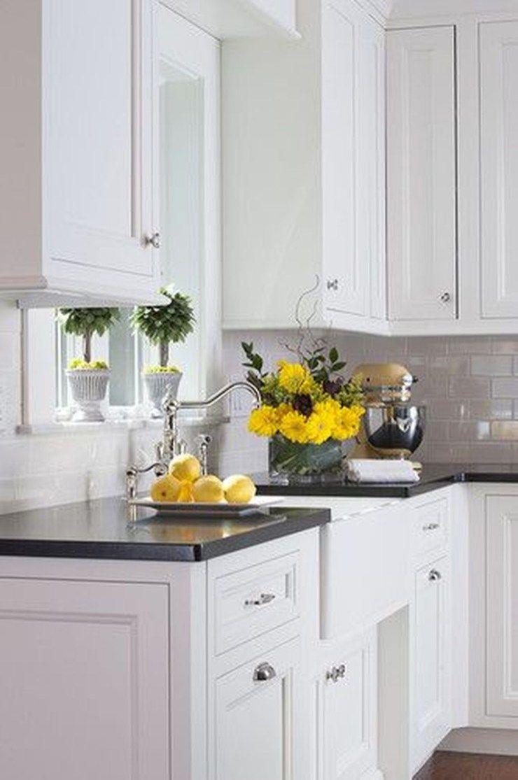 35 the best white kitchen cabinet design ideas to improve your rh pinterest com