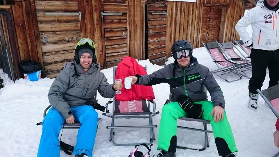 Viva vom campfire Skiweekend. #ski #snow #snowboard #skiing