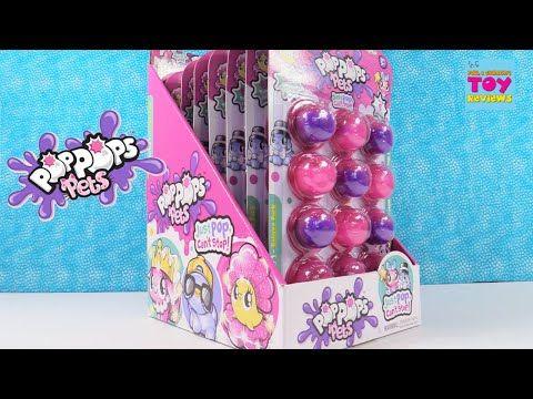 Pop Pops Pets Series 1 Slime Bubble Figure Toy Unboxing