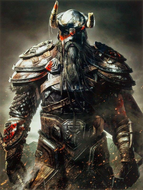 The Bethesda Store Nord Metal Print The Elder Scrolls Online
