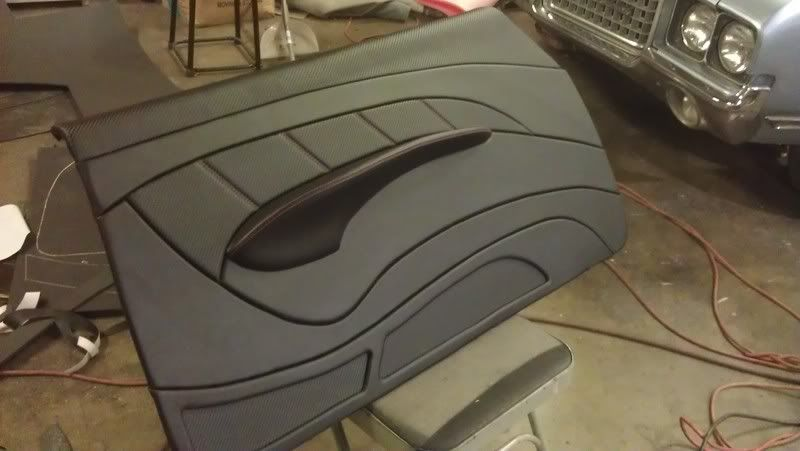 chevelle door panels custom some door panels that r going in a 72 chevelle car interior. Black Bedroom Furniture Sets. Home Design Ideas