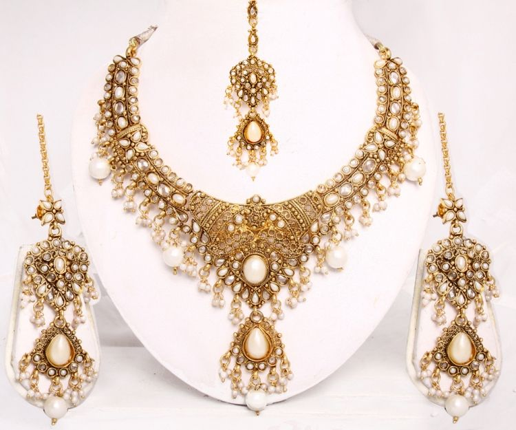 Latest Indian Gold Jewellery Sets Designs For Bridal 2016: Latest-Stylish-Gold-Jewelry-2015-Sets-for-Bridal