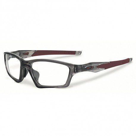 79b28fc2742 New Oakley Eyeglasses Crosslink OX8033-0655 Gray Smoke 55mm  Oakley   Rectangularwrap Oakley Radarlock