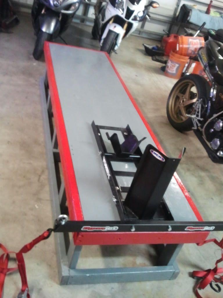 Wood Bike Stand Lift Plans Wood Bike Bike Stand Bike Lift