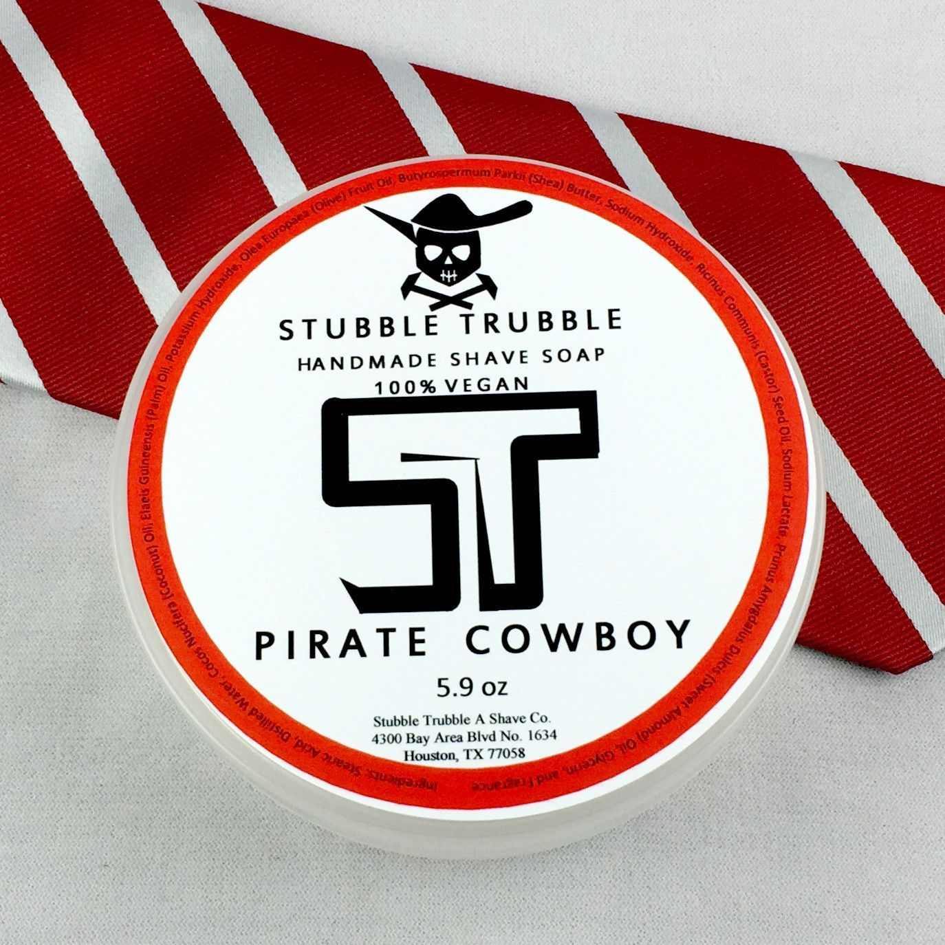 Stubble Trubble Pirate Cowboy Artisan Shave Soap