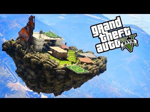 cool GTA 5 Map Mods #4 - Life in the Sky, European Coastal Town and
