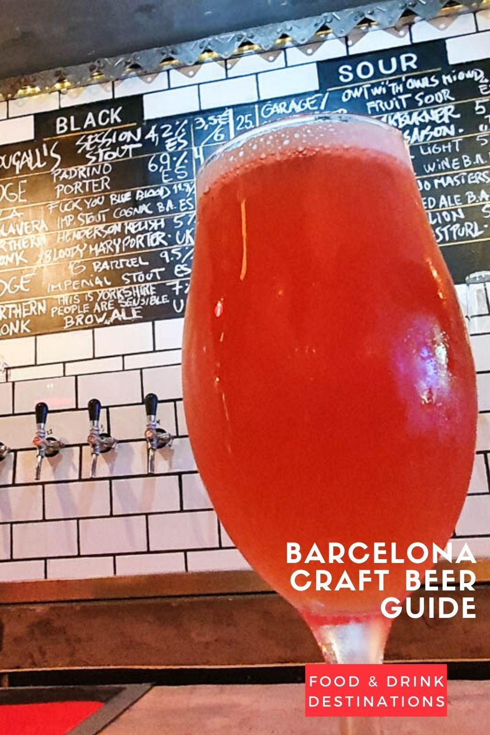Barcelona Craft Beer Guide Drinking The Best Craft Beer In Barcelona In 2020 Beer Guide Best Craft Beers Craft Beer