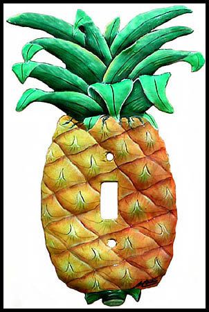Switch Plate Covers - Tropical Pineapple Toggle Switch - Light ...