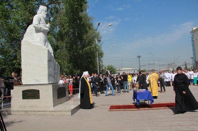 В Красноярске открыли новый памятник Святителю Луке · Новости Красноярска · «Городские новости» #Красноярск