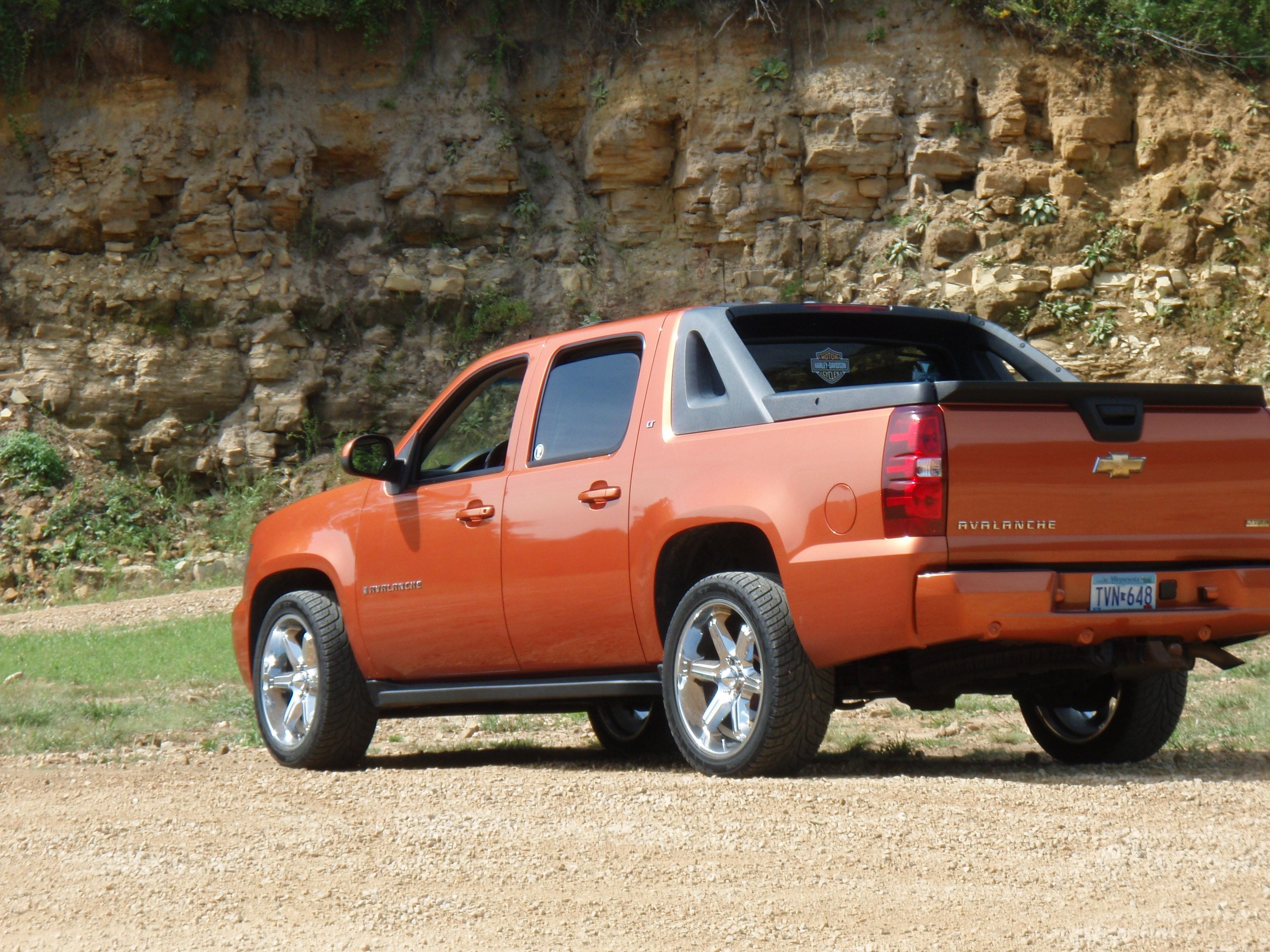 Orange Chevy Avalanche Chevy Avalanche Truck Yeah Chevy Girl