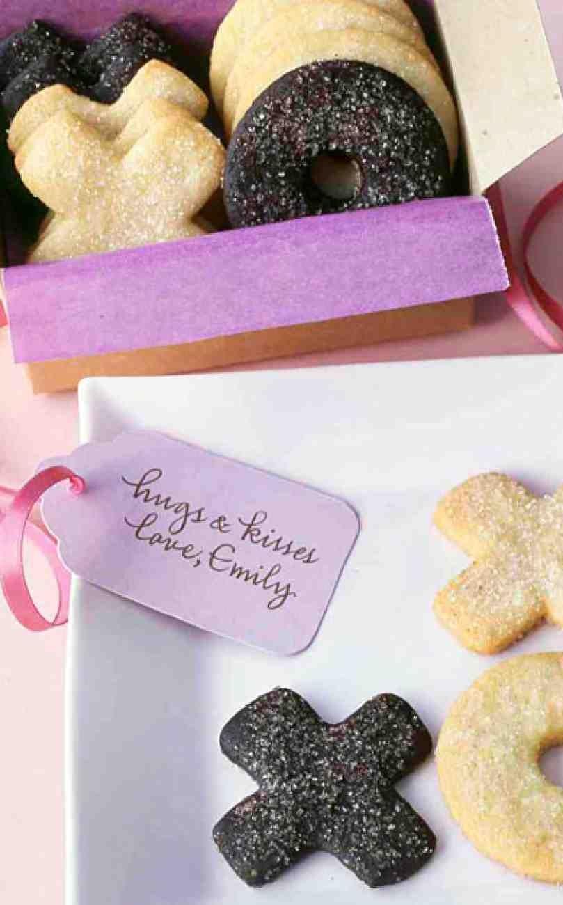 Hugs and kisses sugar cookies recipe sugar cookies hug and kiss