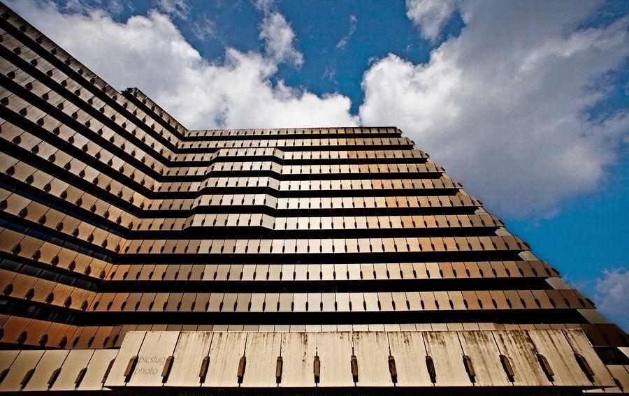 1960er Post Building - Hamburg Germany by Picslug
