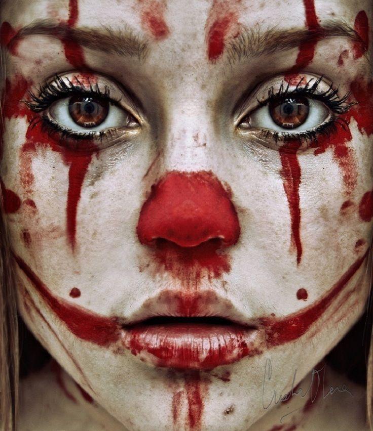 maschera Photo Pinterest Halloween ideas, Halloween makeup and - clown ideas for halloween