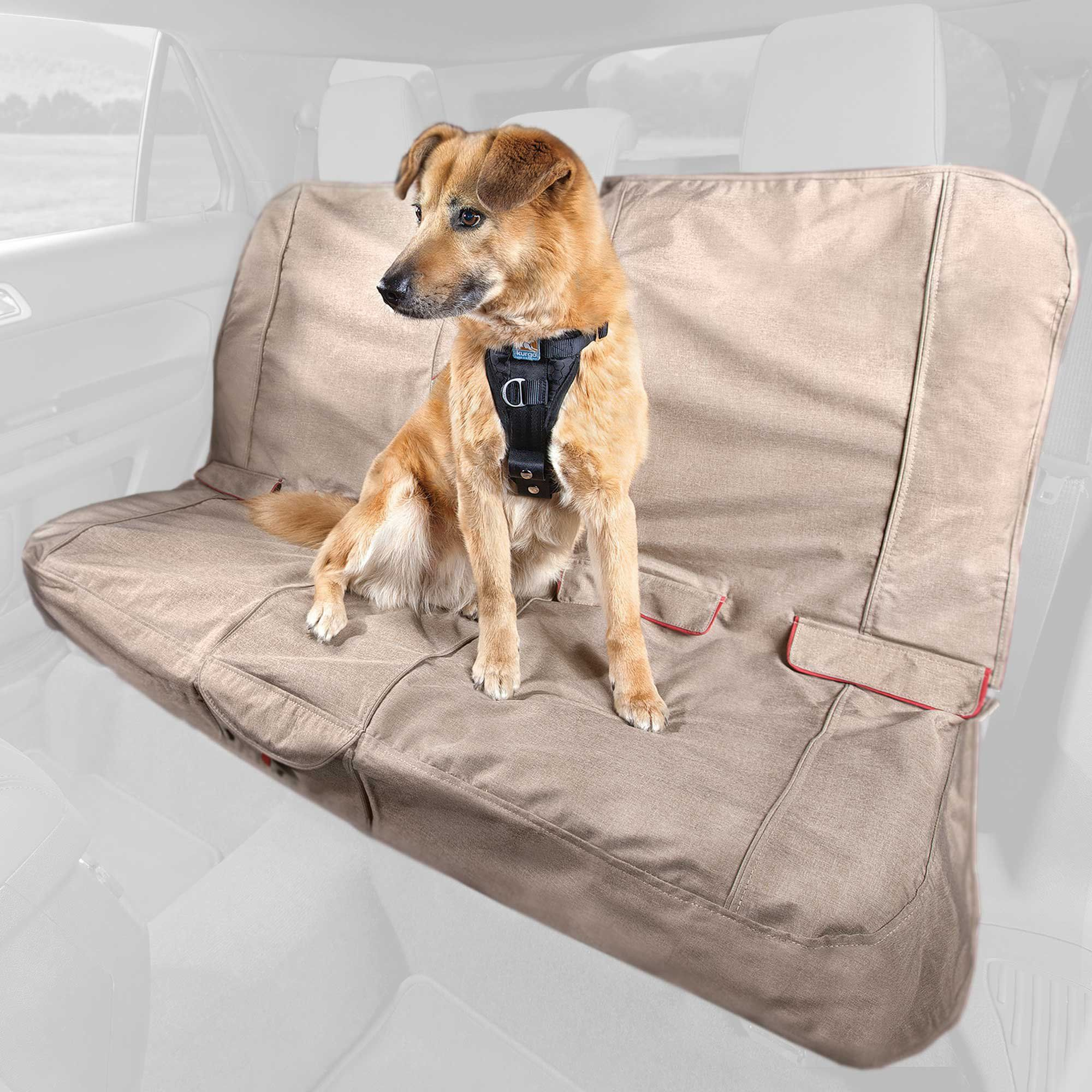 Astonishing Kurgo Heather Bench Tan Dog Car Seat Cover Products In Unemploymentrelief Wooden Chair Designs For Living Room Unemploymentrelieforg
