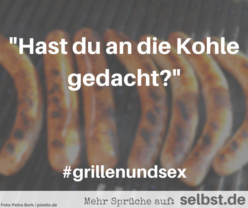 Schwarzer Grill-Sex