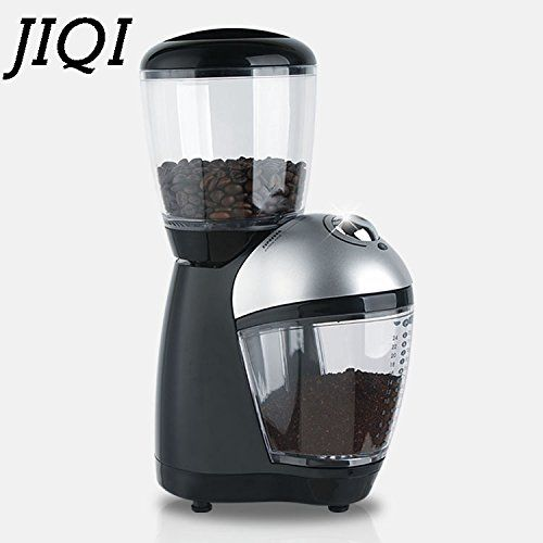 Jiqi Electric Coffee Burr Grinders Italian Cafe Coffee Bean Grinding