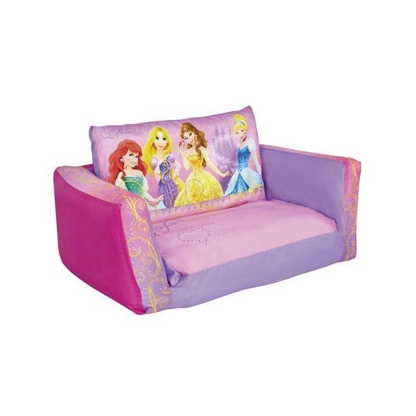 Canape Lit Disney Princesses Mobilier Enfant Pinterest