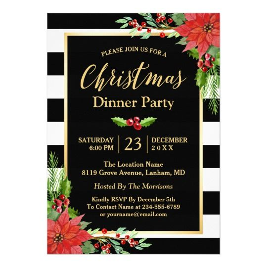 pin by peacock cards on christmas holiday party invitations