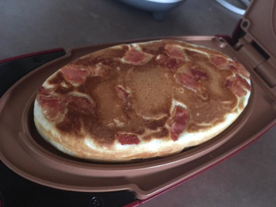 Red Copper 5 Minute Chef Big Bacon Pancake Recipe Recent Recipes