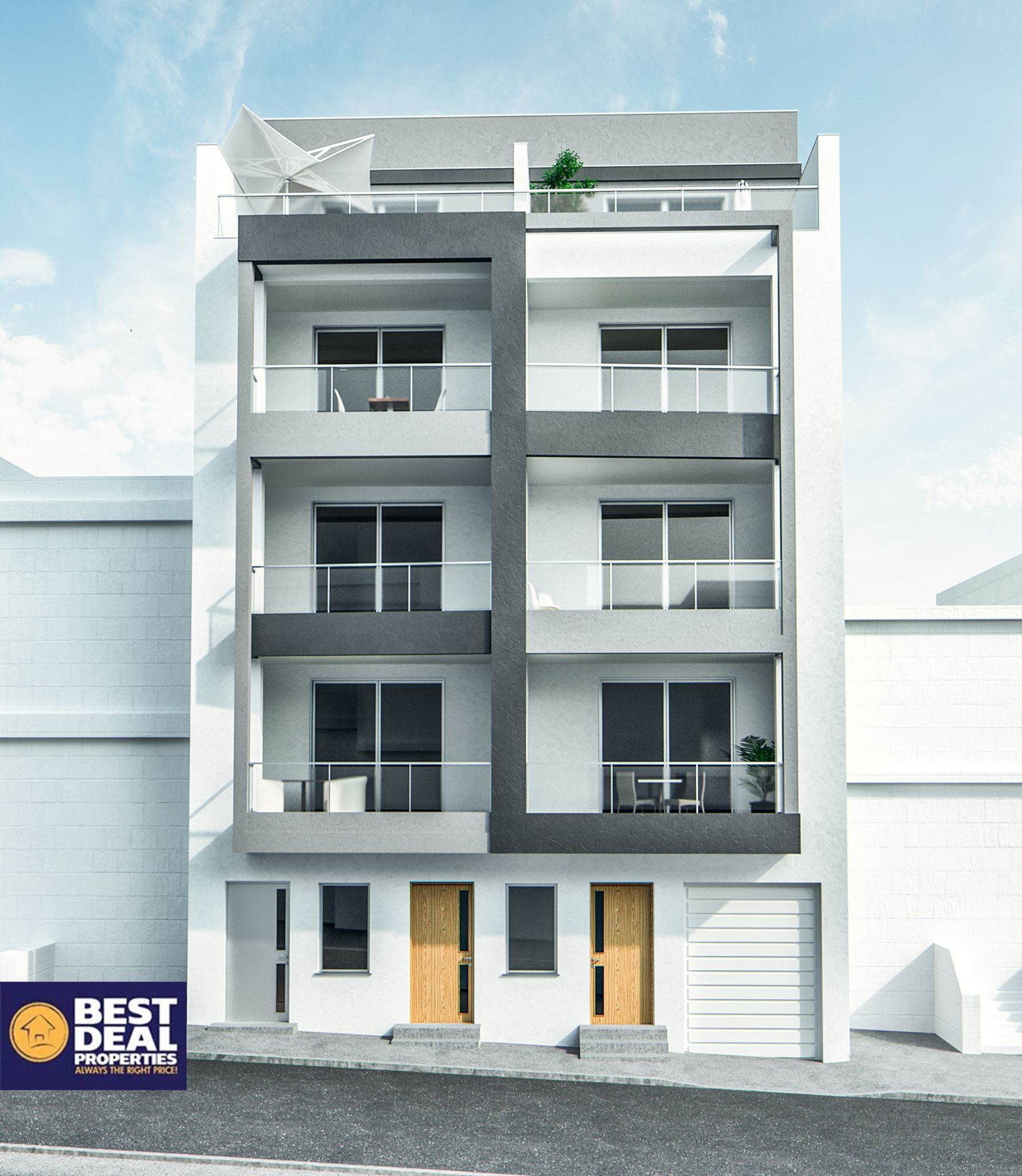 Front Elevation Designs Of Apartments : Pin by dpro on facade renders pinterest facades