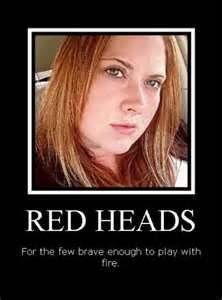 Redheads For The Few Brave Enough To Play With Fire Images