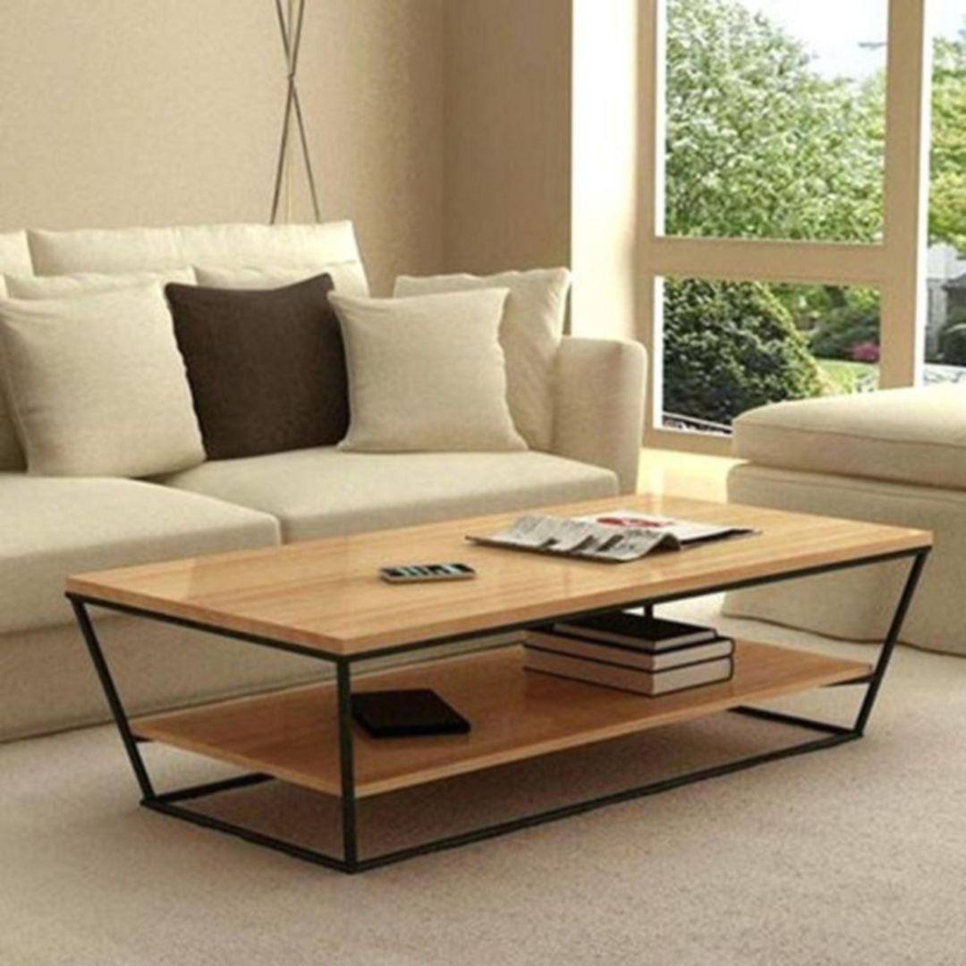 10 Gorgeous Coffee Table Styles To Complete Your Beautiful Home Wood Table Living Room Centre Table Living Room Living Room Coffee Table