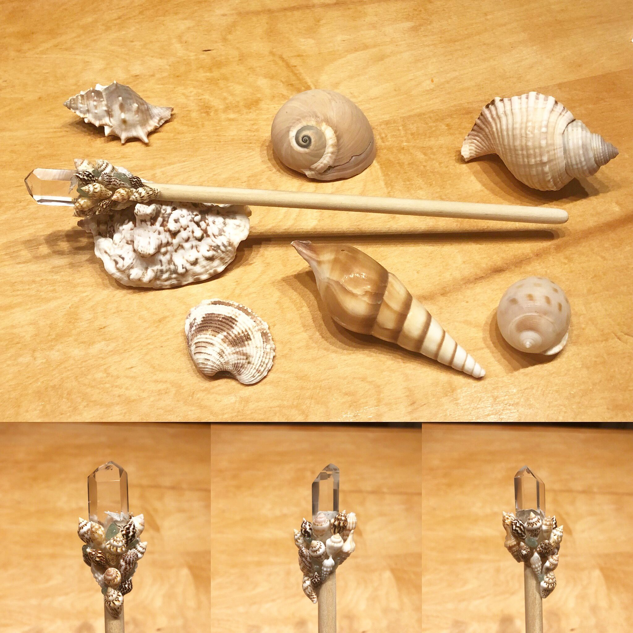 Seashell Magic Wand