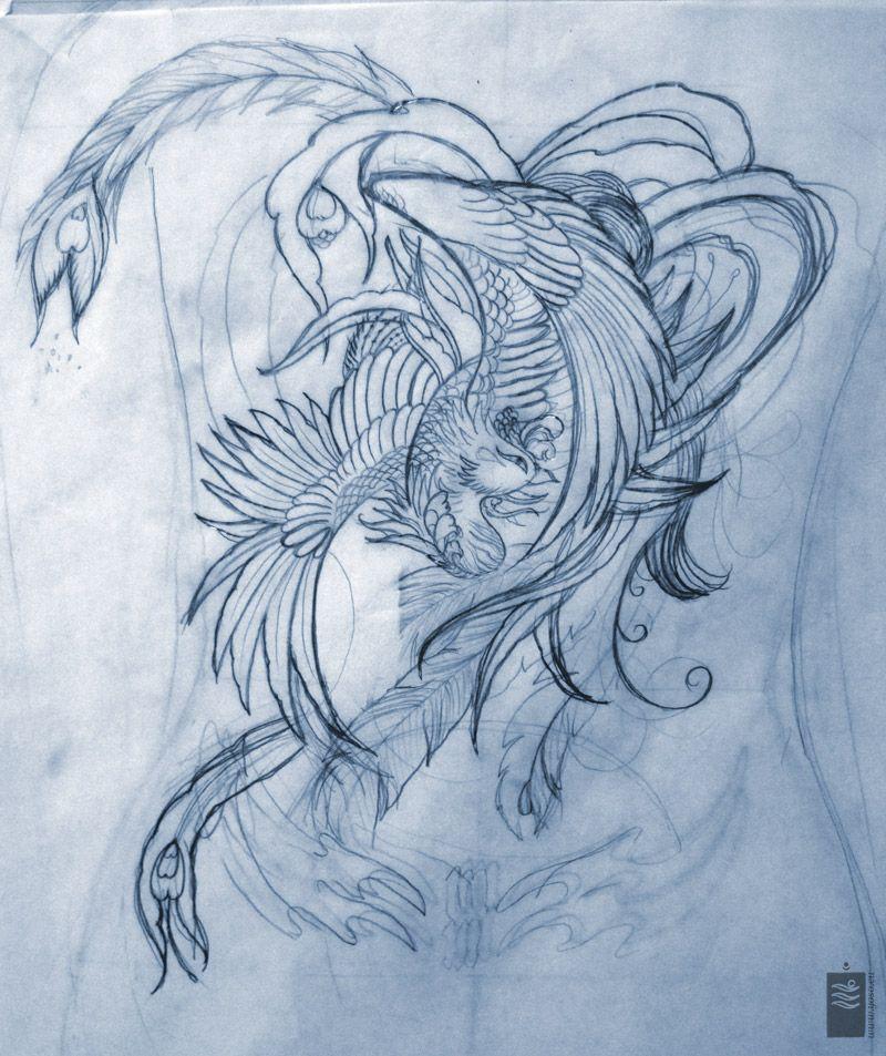 Traditional Japanese Phoenix Tattoo Designs Hd Walls Find Designs Find Japanese In 2020 Phoenix Tattoo Design Japanese Phoenix Tattoo Phoenix Tattoo