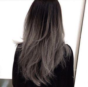 Dark Ash Brown Hair Google Search Grey Ombre Hair Balayage Hair Hair Styles