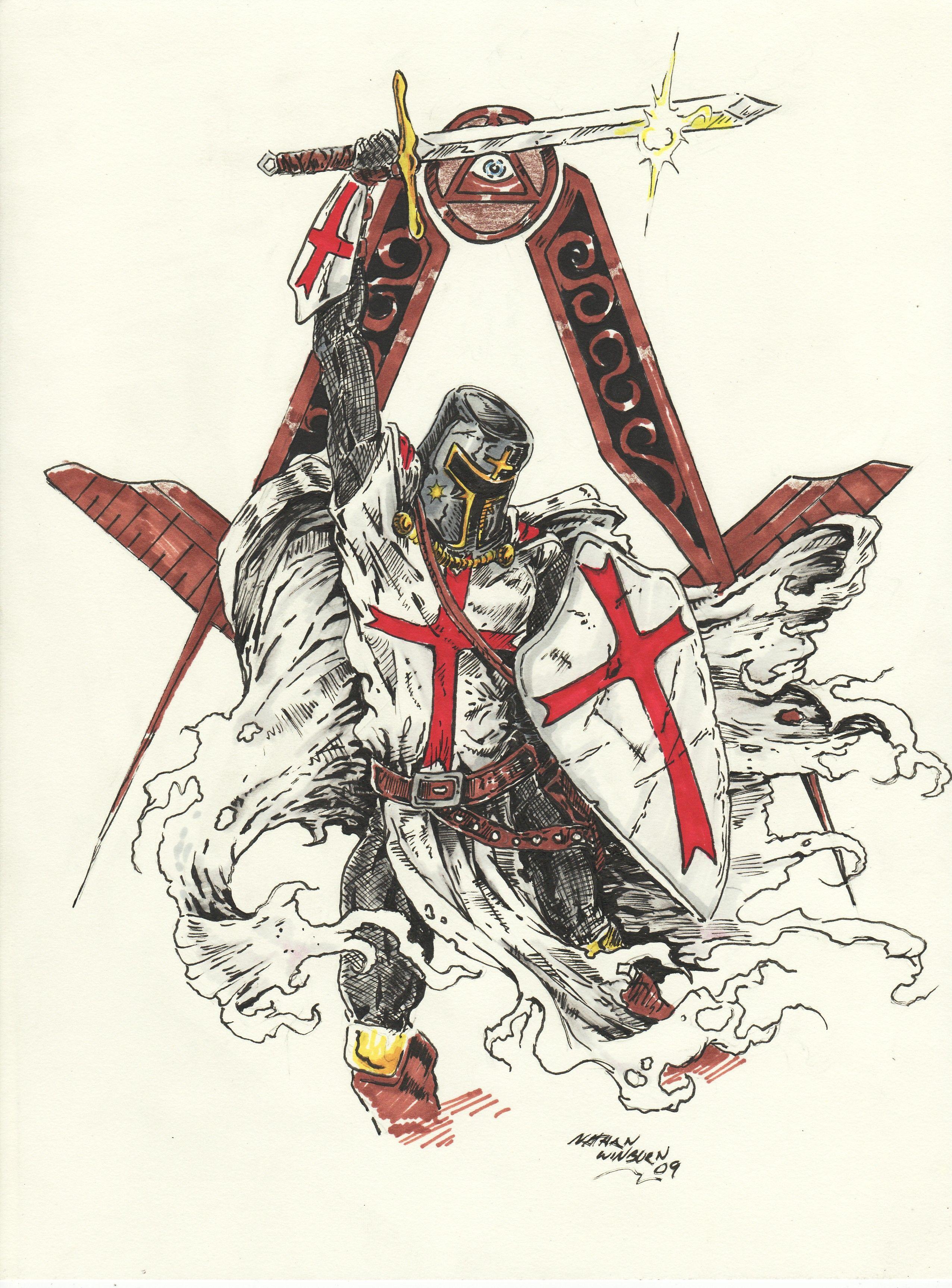 Freemason Tattoo Knights Templar The Key To All Things That Is