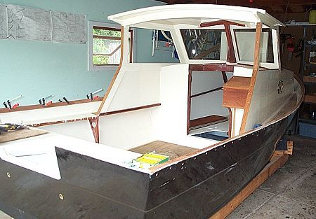 Boat building: Cabin Skiff pic651a | fishing | Pinterest