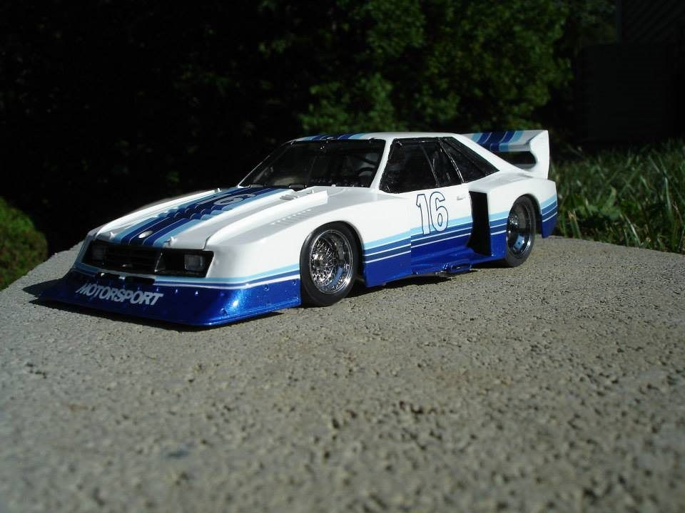 Ford Motorsport SCCA Trans-Am Mustang race car - Scale Auto ...