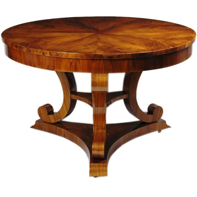 A Biedermeier Center Hall Table 1stdibs Com This Table Has Sold