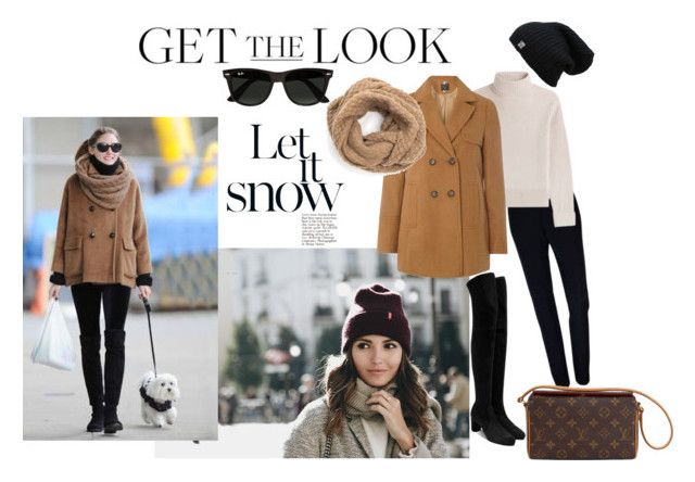 """""""Winter Go~To"""" by tammydevoll ❤ liked on Polyvore featuring Victoria Beckham, Plakinger, Casadei, Vanessa Seward, Dorothy Perkins, Louis Vuitton and Ray-Ban"""