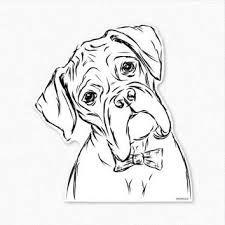Cowboy Clip Art Boxer Dog Tattoo Dog Tattoos Dog Drawing