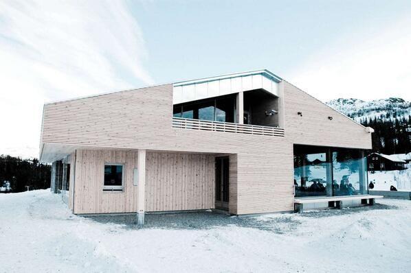 Ski centre, tinn Norway