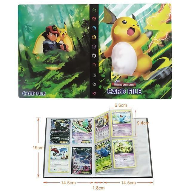Photo of Pokemon Cards Album Book Cartoon – Anime 80/240PCS Game Cards – 15