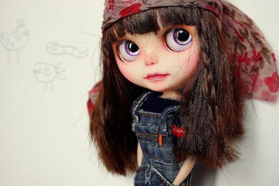 OOAK Irving - Custom Blythe Doll Irving - Art Doll