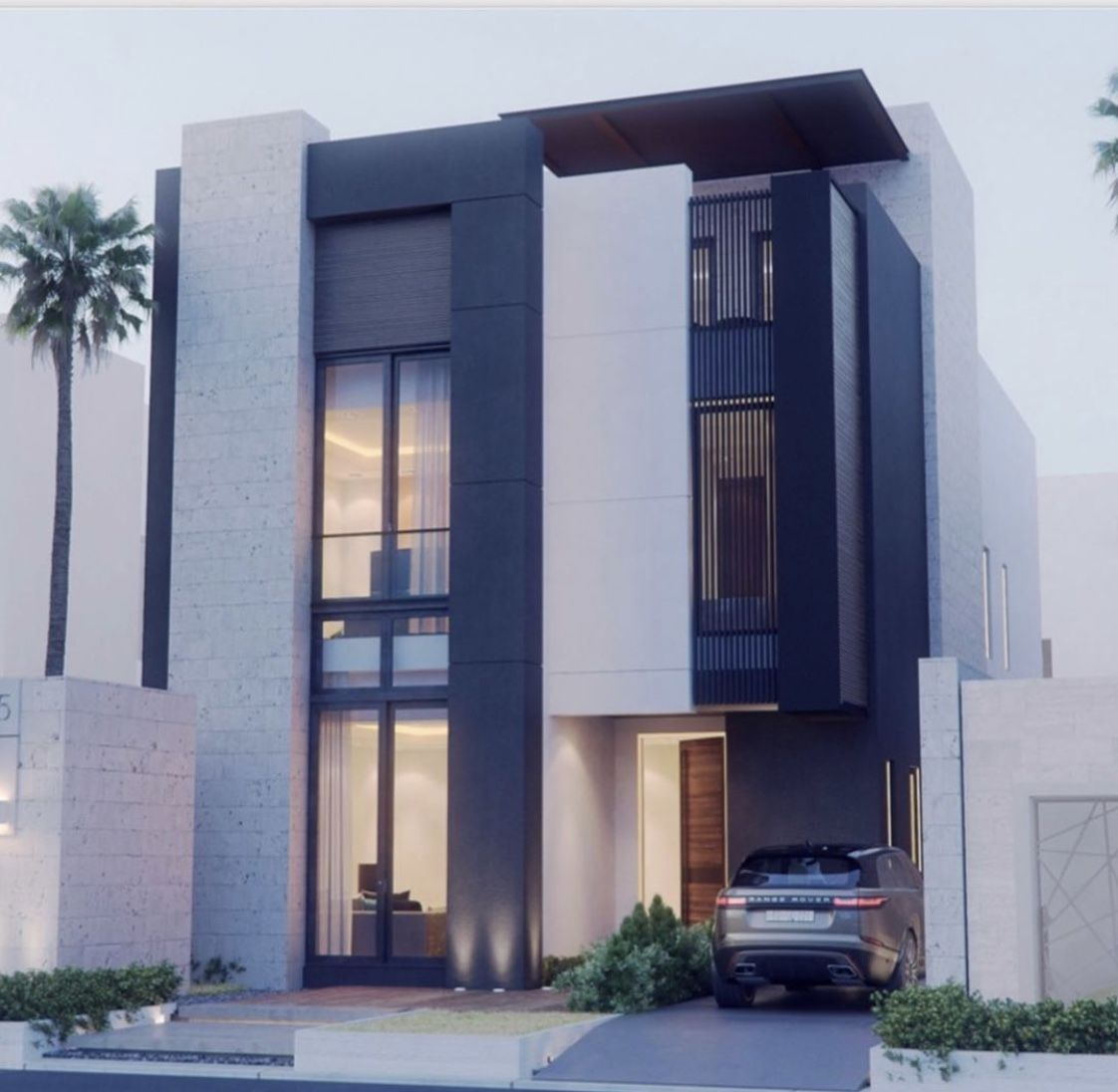Pin By Ahmed Alghunim On واجهات مباني House Styles Architecture House