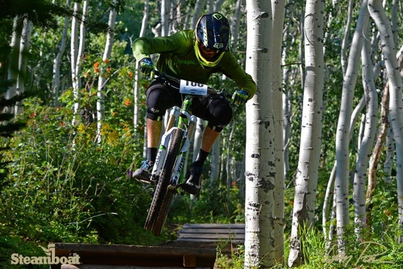EnduroX race at Steamboat Resort Scenic roads, Mountain
